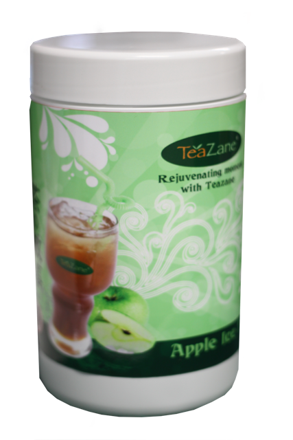 apple ice tea-bottle