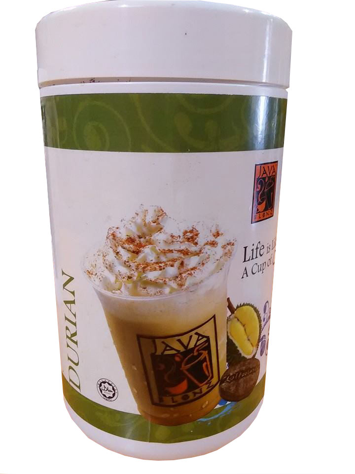 durian cappucino-bottle