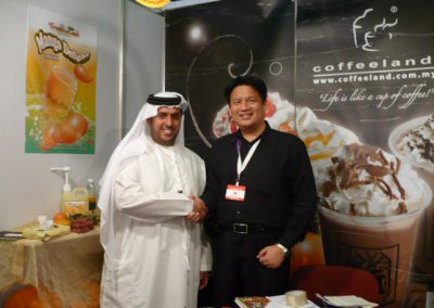 Gulfood09 Mr Ateeq-Abu Dabi, Rosta Coffee